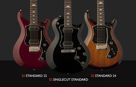 "PRS Adds Three All-Mahogany ""S2 Standard"" Models to Line Up"