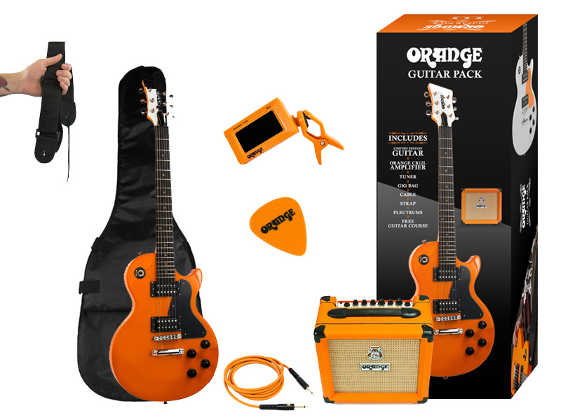 orange amplification launch complete guitar pack