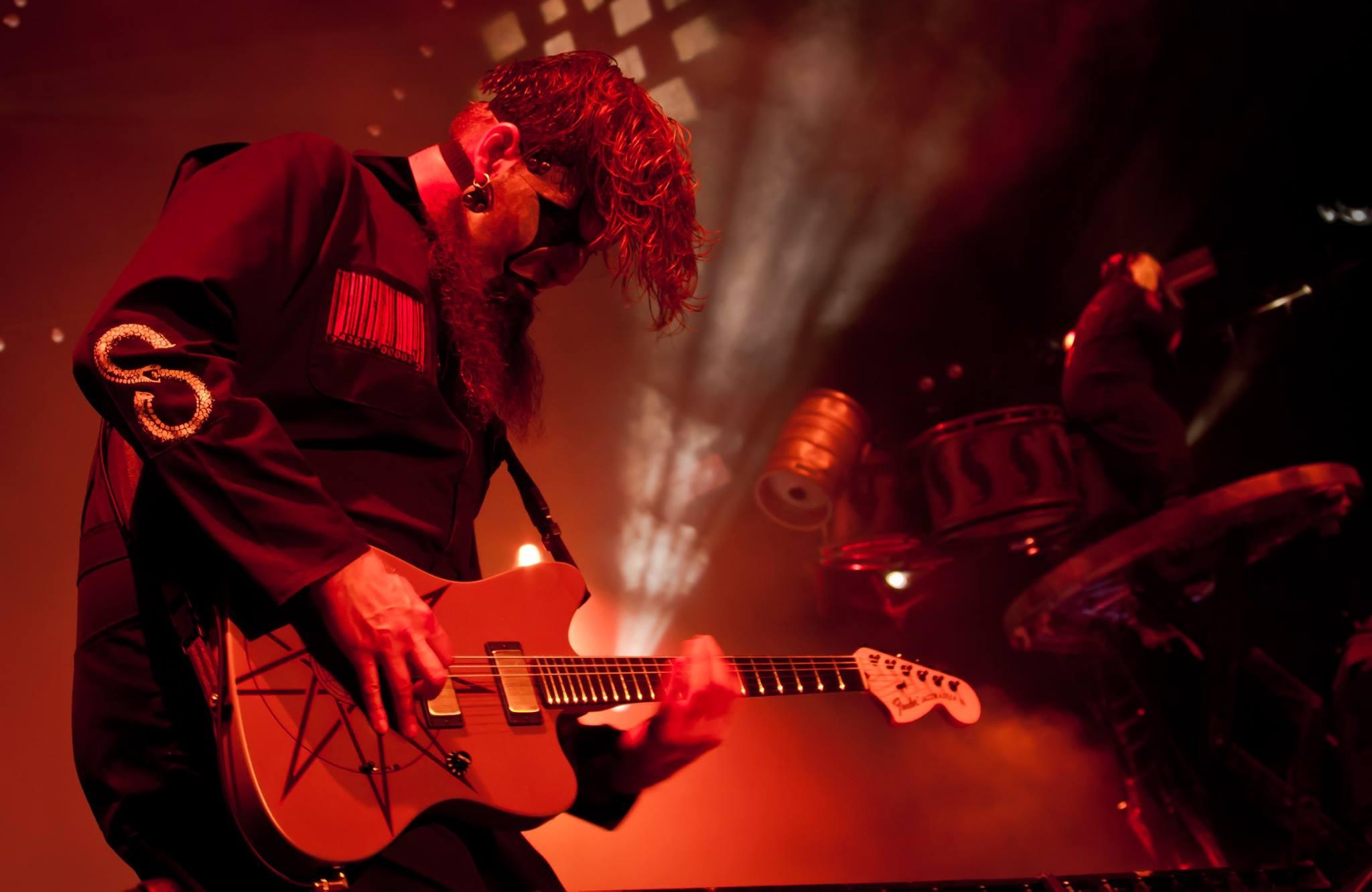 Jim Root Slipknot 2015